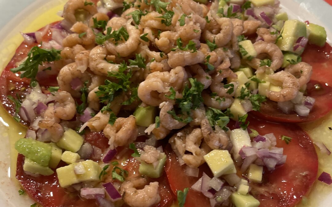 Een klassieker: tomaat – garnaal